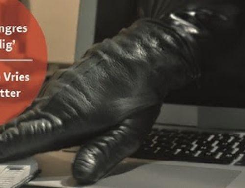 UITNODIGING Cybercrimecongres voor ondernemers met Peter R. de Vries op 14 november a.s.