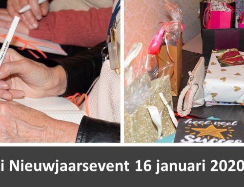 ViZi Nieuwjaarsevent 16 januari 2020