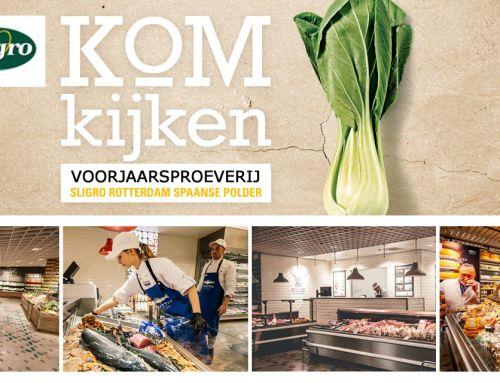 Uitnodiging: Op en top lente met MKB Rotterdam Rijnmond en Sligro