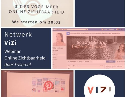 ViZi webinar: 3 tips voor meer online zichtbaarheid.